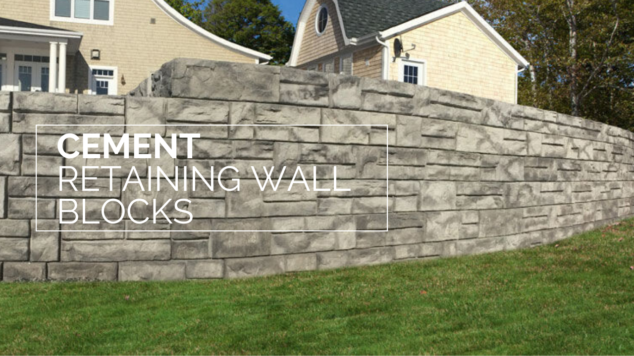 Embellish Your Retaining Walls By Affordable Cement Retaining Wall